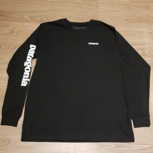 Patagonia Crew Neck Long Sleeve Tee Shirt
